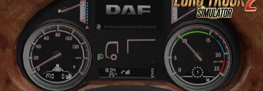 DAF XF Euro6 Board computer with own sounds [1.30.x]