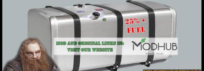 Deposits 25% Extra Fuel by Rockeropasiempre 1.0 Ets2 V 1.30