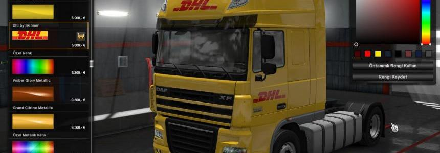 DHL Skin for DAF XF105 1.30