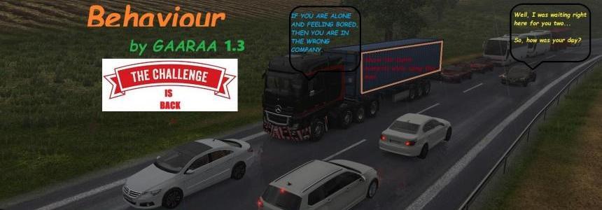 Dumb Traffic Behaviour by GAARAA v1.3