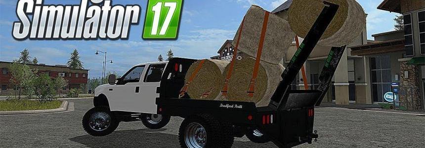 Ford diesel hay roller coal roller v1.0