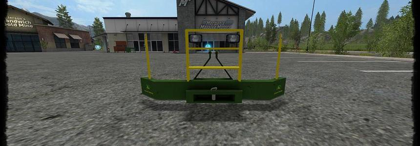 Frontweight with Lights 2000Kg v2.0