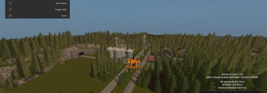 FS17 The Great Plains of USA v1.0