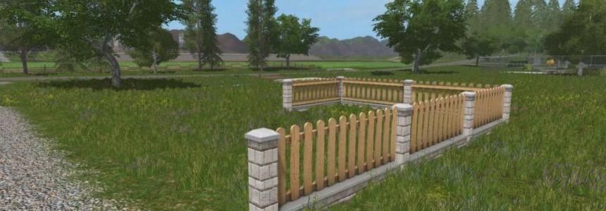 Garden Fence Set (Prefab) v1.0.0.0