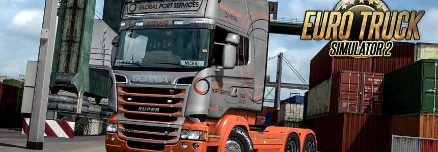 Global Port Services Scania RJL Skin