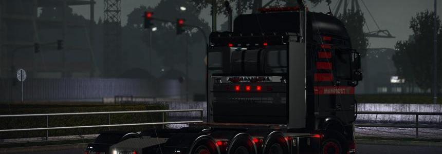 Heavy Haulage chassis for DAF XF Euro 6 [SCS] v1.4 1.30