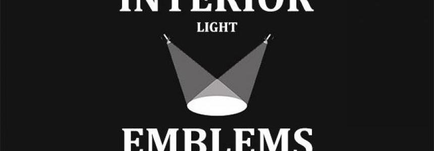Interior Light & Emblems (add-on) 1.30