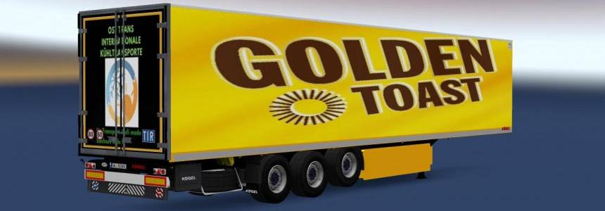 Kamelia Trailer Golden Toast Skinn fur 1.30