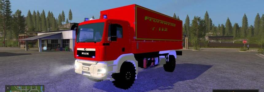 Man firefighter vehicle GW-L v1.0