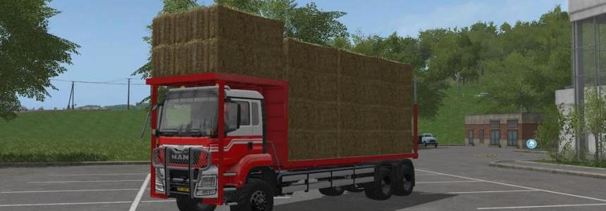 MAN TGS Bale Transport v1.0.0.0