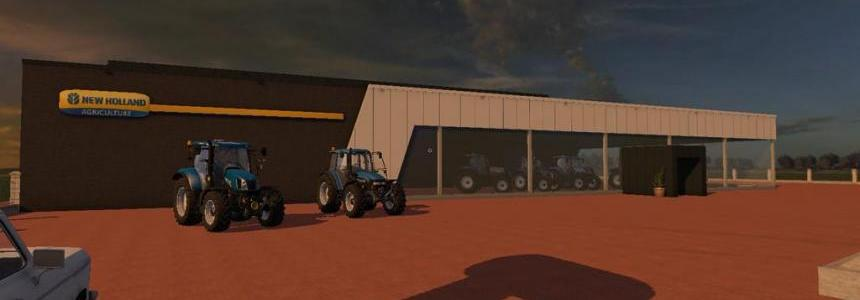 New Holland Dealer (Prefab) v1.0