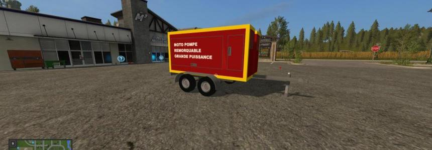 Pack 4 remorques pompiers v2.0
