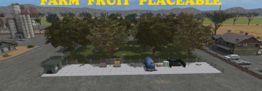 Placeable Farm Fruit v1.0