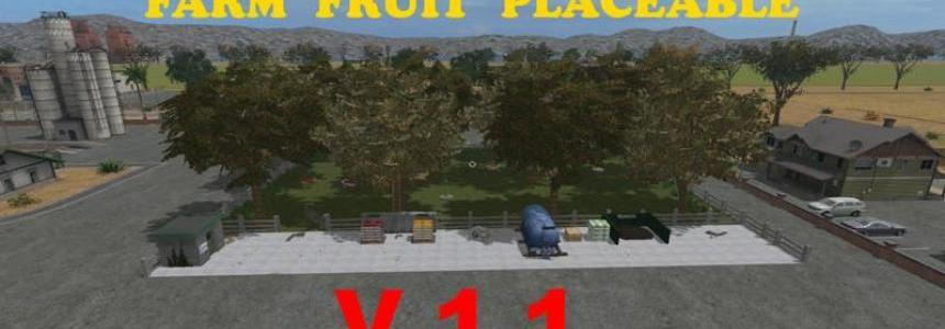 Placeable Farm Fruit v1.1