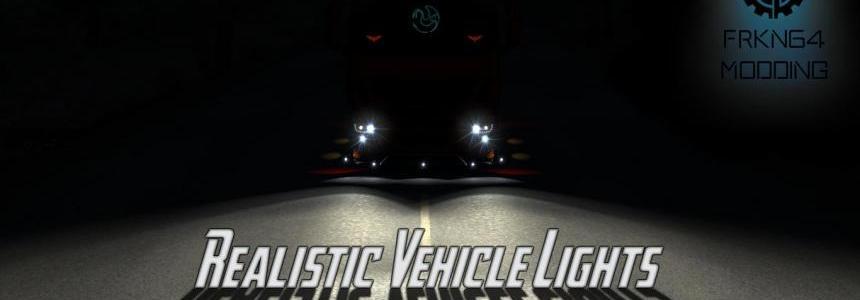 Realistic Vehicle Lights v2.5 1.30