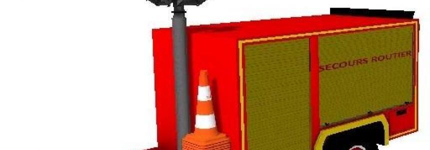Remorque secours routiers fs17 v1.0