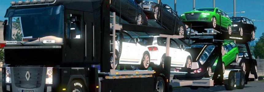 Renault Magnum Car Carrier Trailer v1.0