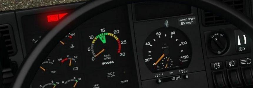 Scania 4 Series Gauges v1.0