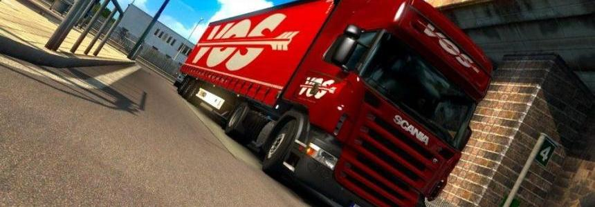 Scania R 2009 RJL + Wielton NS3K M2 mega VOS Trailer v1.0