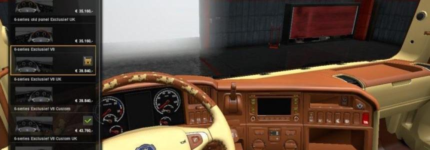Scania RJL Leather Interior v1.0