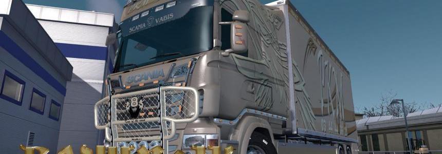 Scania R&S Exc Topline by RJL PKM Logistiqe skin 1.30