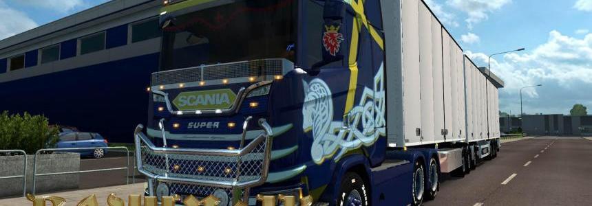 Scania S 2016 SCS Scandinavian legend skin 1.30