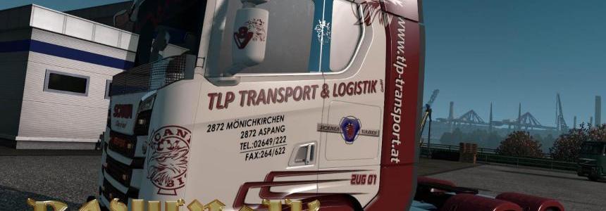 Scania S 2016 SCS TLP transport & logistik skin 1.30