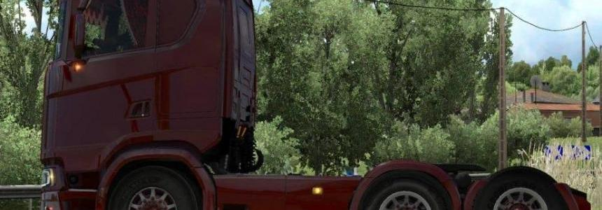 Scania S 2016 Short 6x2 Taglift v1.0
