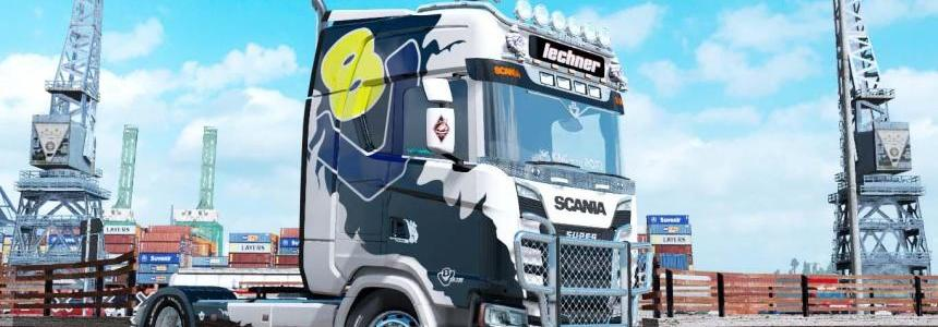 Scania S LECHNER KING OF THE ROAD skin 1.30