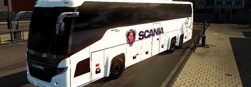 Scania Touring HD bus mod v1.0