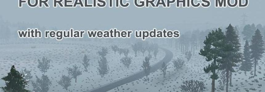 Seasonal Add-on for Realistic Graphics Mod v1.0 1.30