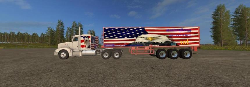 Steelcrafter59 logo truck and trailer v1.0.0