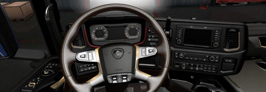 The interior for Scania 2016 v3.0