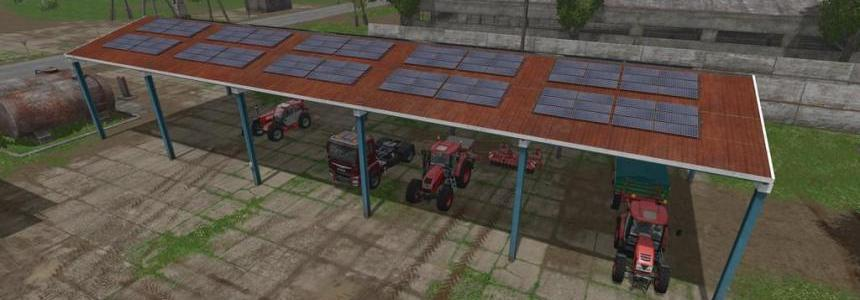 Vehicle Shelter With Solar System v1.0