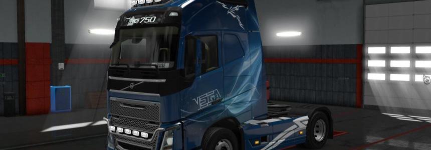 Volvo FH16 Vega skin 1.30