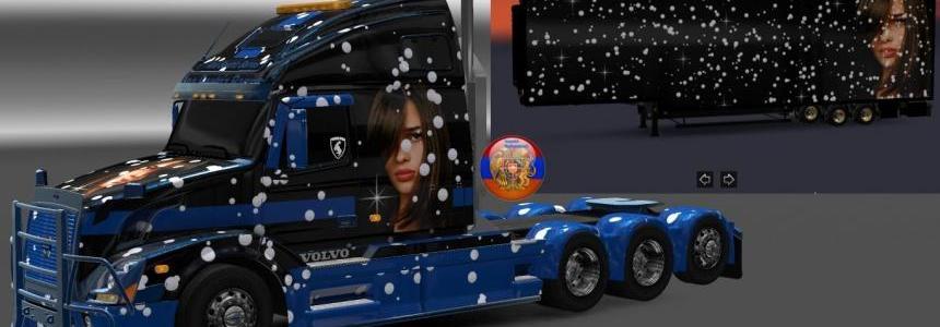 Volvo VNL670 Ana Beatriz Barros Combo Skin Packs 1.30.2.2s