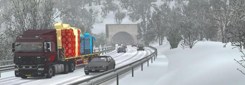 Winter Add-On for Realistic Graphics Mod release v1.0