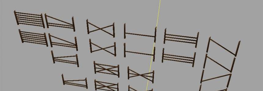 Wooden fences [GE] v1.0