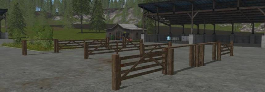 Wooden Gates to use on maps (Prefab) v1.0