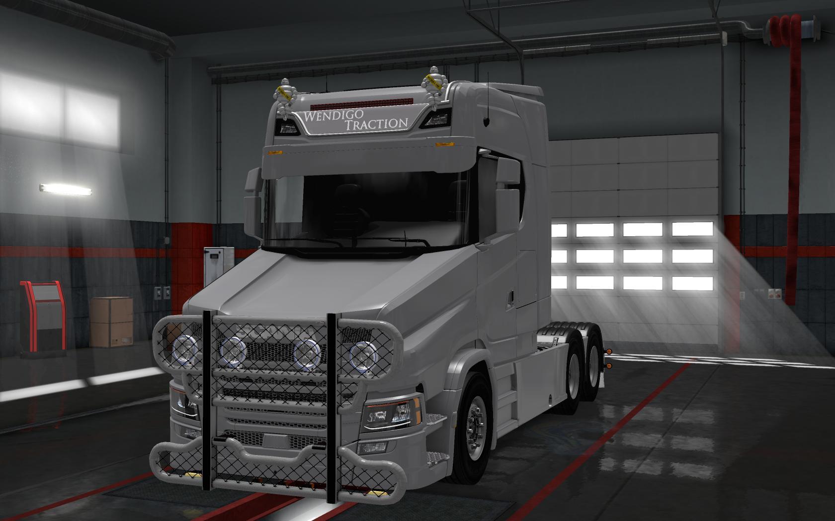 Scania T Next Gen v10 Modhubus