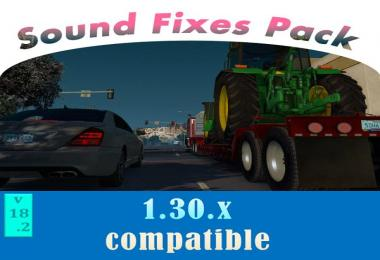 [ATS] Sound Fixes Pack v18.2