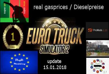 Real gasprices/Dieselpreise update 15.08 v1.7.6