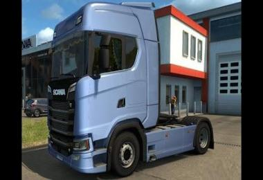 Animated Next Gen Scania Curtains 1.30