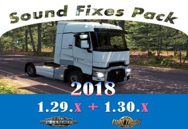 [ATS] Sound Fixes Pack 2018 v18.0
