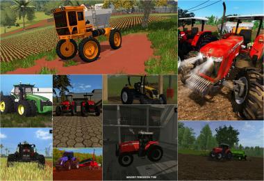 Brasil Edition Tractors Pack v1.0