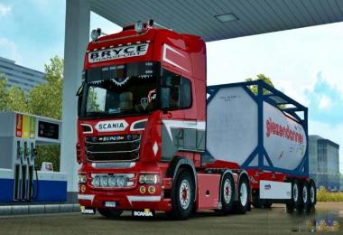 Bryce Transport Skin for Scania RJL Topline 1.30