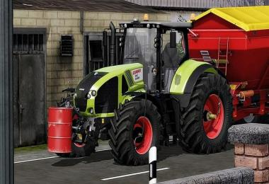 Claas Axion 900 Series (920, 930, 940, 950) v1.1