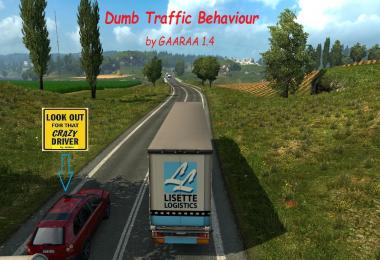 Dumb Traffic Behaviour by GAARAA v1.4