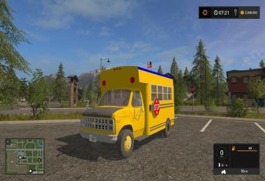 FS17 Schoolbus v1.0