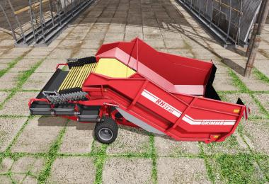 Grimme RH 24-60 manure and woodchips v1.0
